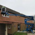 High Level Window Cleaning in Clitheroe