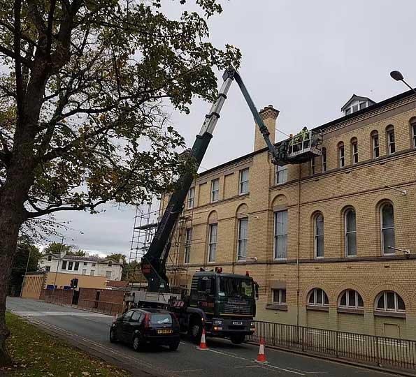 High Level Window Cleaning in Rochdale