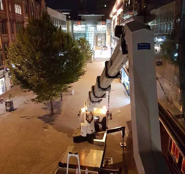 Cherry Picker Hire in Huddersfield